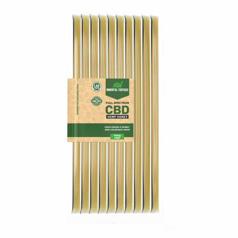 CBD Honey Sticks - 10 pack