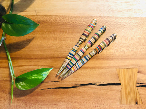 Recycled Skateboards Pen