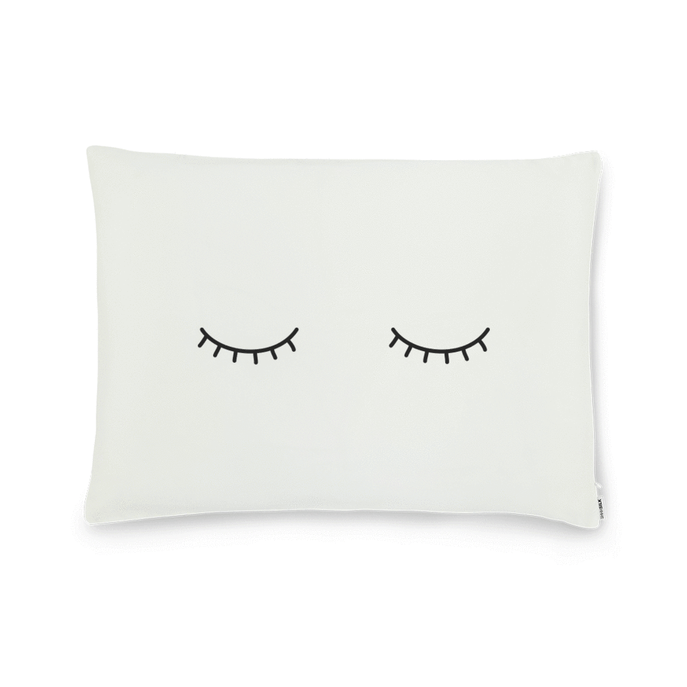 Sleepy Eyes Silk Pillowcase