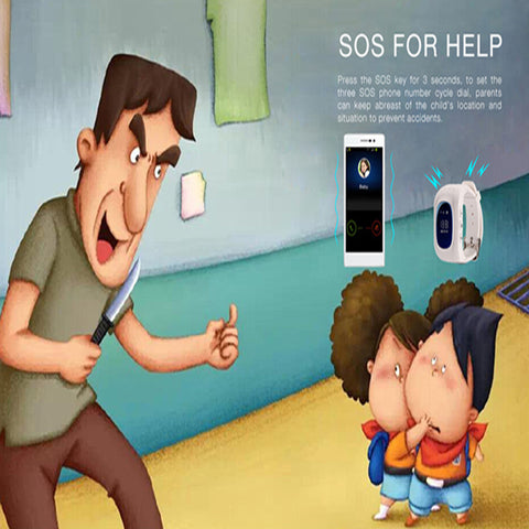 Casual Freaks Children SMART WATCH SOS