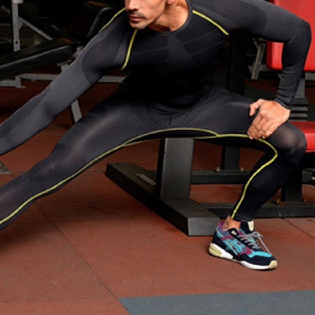 3bccad2443b ... Mens Compression Thermal Base Layer Under Skin Tights Fitness Long Pants  - Casual Freaks ...
