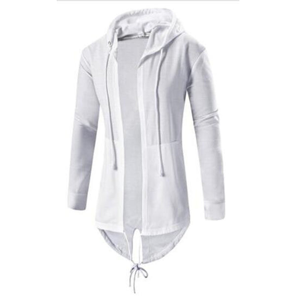 Men's Smart Casual Zipper Thin Hoodie - Casual Freaks