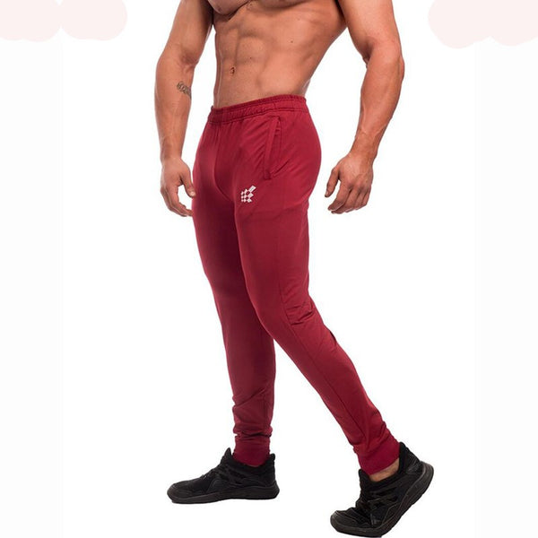 Champion Gold Medal Fitness Casual Elastic Embroidered Pants **** - Casual Freaks