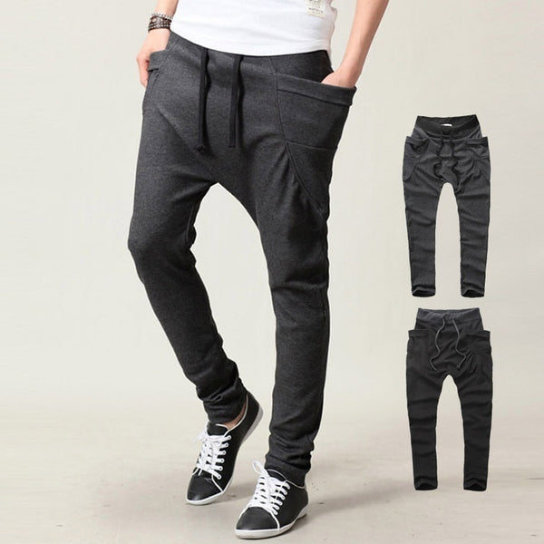 Leisure Low Crotch Style Pants - Casual Freaks