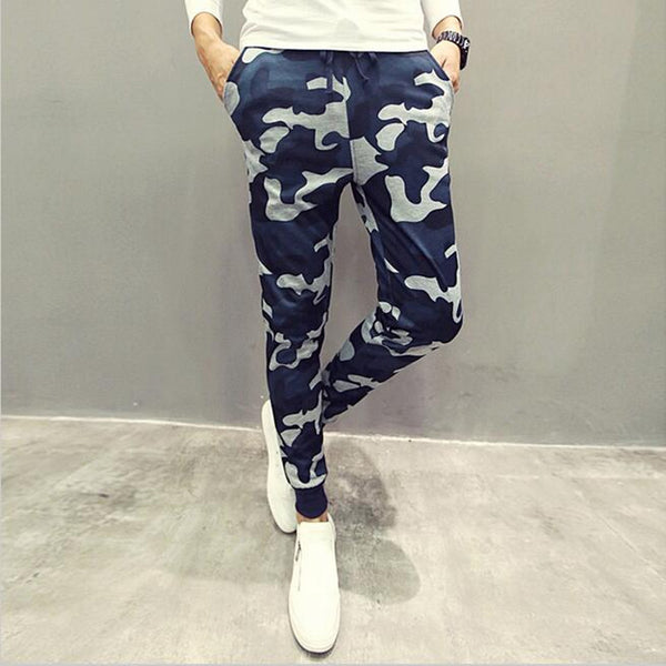 Camouflage Casual Pants Cool Casual Military Trouser Slim trend - Casual Freaks