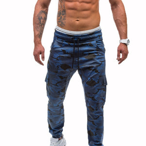 Wild Cargo Pants for Mens Relaxed-fit Casual Pants Trousers with Phone Pocket - Casual Freaks