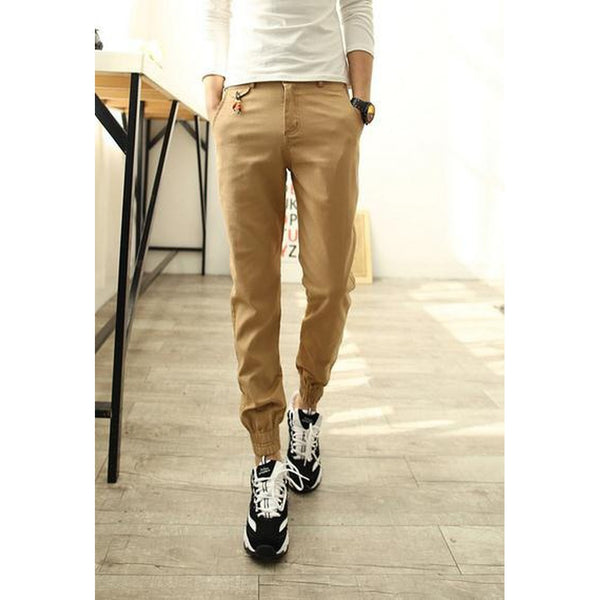 Jogger Business Casual Trousers Premium Cotton Pants - Casual Freaks