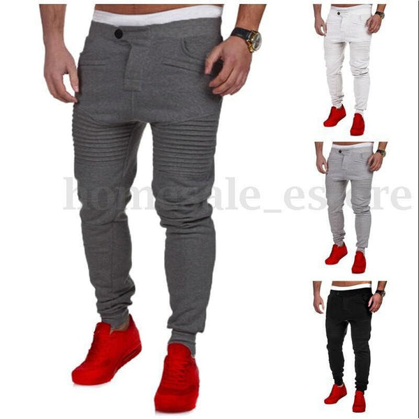 Fitness Explosion Stovepipe Stripe Casual Pants - Casual Freaks