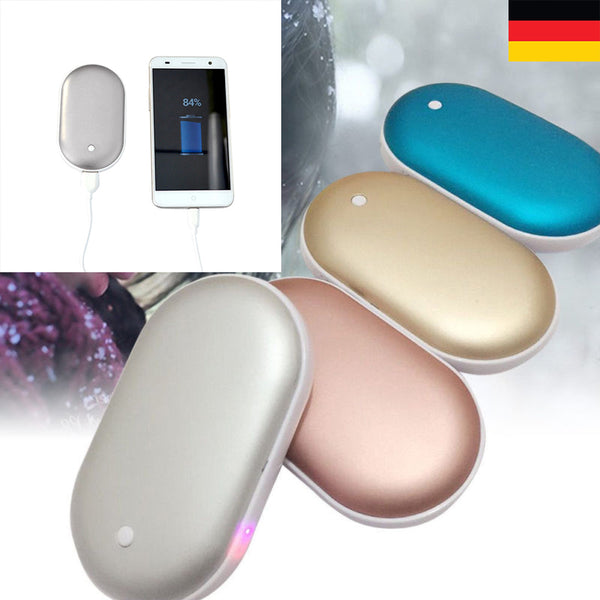 Wait No More! It's Cold out there! Our Folks Needs It! [New Launched] Double-Side Pocket Hand Warmer Heater Pebbles - Casual Freaks