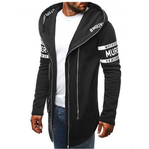 Mr Simple Personality Fashion Zipper Hoodies - Casual Freaks