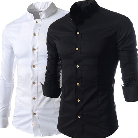 Creative Stand Slim Fit Collar - Casual Freaks