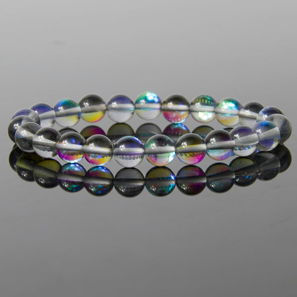 Brilliant light Blue labradorite Moonstone Bracelet - Casual Freaks