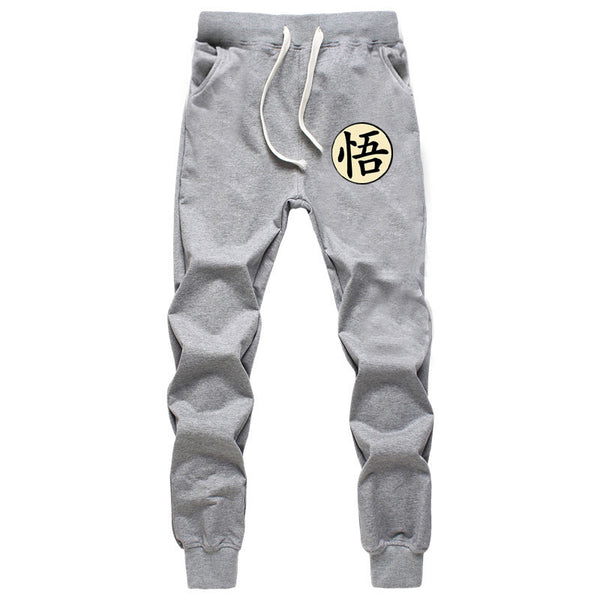 Casual Legendary Dragon Ball Goku Men's Pants Cotton Joggers - Casual Freaks
