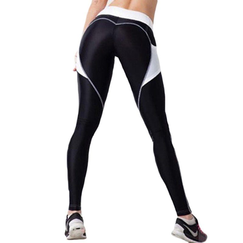 Heart Booty Pattern Sexy Women Yoga Pants - Casual Freaks