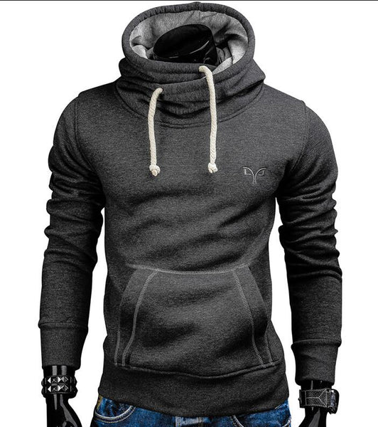 Autumn Pullover Solid Color Turtleneck Casual Sweatshirt - Casual Freaks