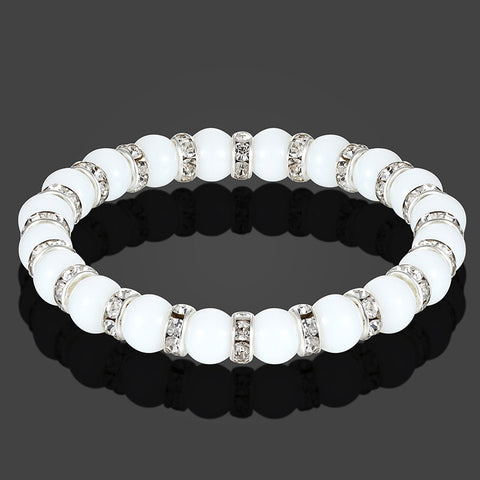 High Quality Natural Stone Charm Couple Bracelet - Casual Freaks