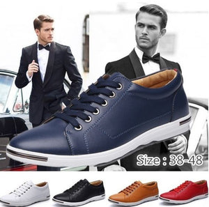 Gentlemen Smart Casual Genuine Leather Oxford Shoes [LUXURIOUS] - Casual Freaks