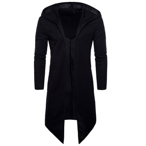 Casual Gent's Long Fit Trench Coat Men Overcoat - Casual Freaks