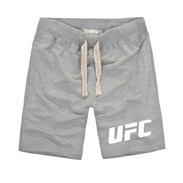 Men's UFC Printed Premium Fitness Pure Cotton Shorts - Casual Freaks