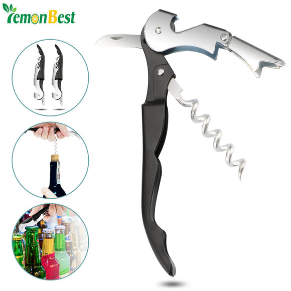 GrillMasterz 2Pcs High Quality Multifunctional Corkscrew