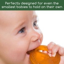 Load image into Gallery viewer, Boo the Bunny 100% Natural Rubber Teether