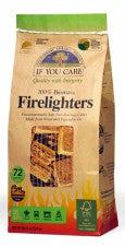 If You Care Firelighters - 72 Pieces