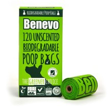 Poop Bags - Compostable - Box of 120 bags