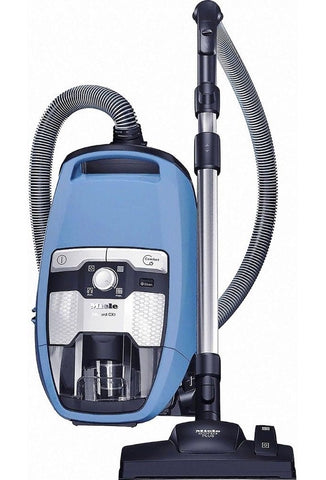 Miele Blizzard CX1 Turbo Team Bagless Canister Vacuum, Tech Blue