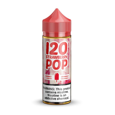 120 Strawberry Pop - Mad Hatter - CRAM Vape - Scunthorpe Eliquid Store