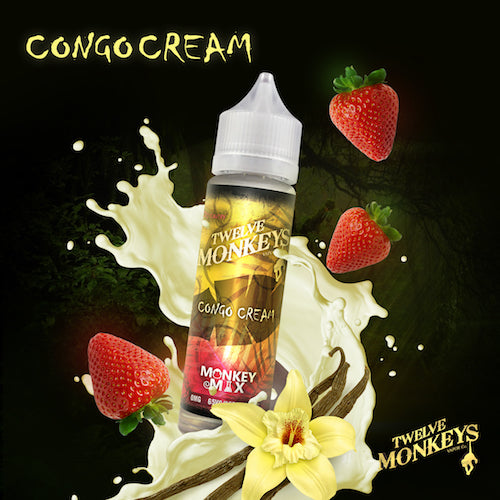 Twelve Monkeys - Congo Cream - CRAM Vape - Scunthorpe Vape Store and Doncaster Vape Store