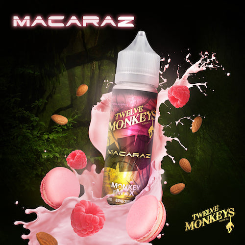 Twelve Monkeys - Macaraz - CRAM Vape - Scunthorpe Vape Store and Doncaster Vape Store