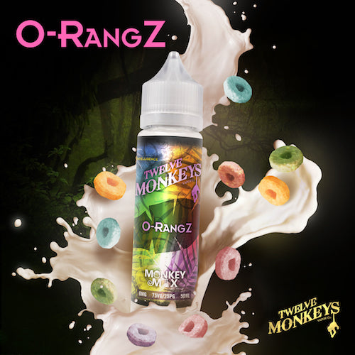 Twelve Monkeys - O-rangz - CRAM Vape - Scunthorpe Vape Store and Doncaster Vape Store