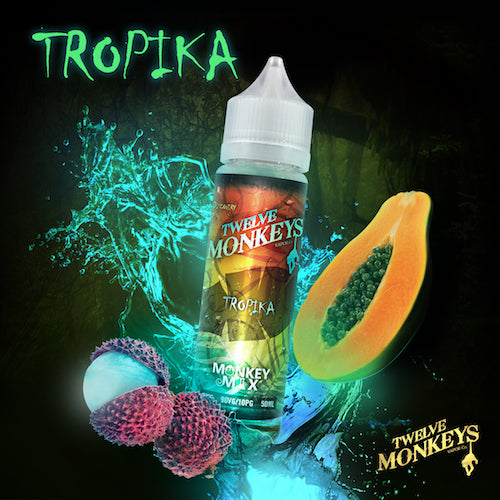 Twelve Monkeys - Tropika - CRAM Vape - Scunthorpe Vape Store and Doncaster Vape Store