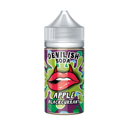 Apple Blackcurrant - Devilish Soda - CRAM Vape - Scunthorpe Vape Store and Doncaster Vape Store
