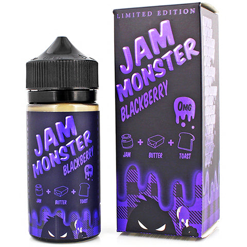 Blackberry - Jam Monster - CRAM Vape - Scunthorpe Eliquid Store