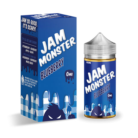 Blueberry - Jam Monster - CRAM Vape - Scunthorpe Eliquid Store