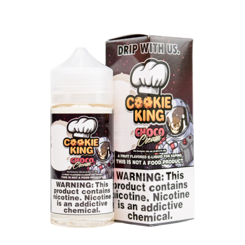 Choco Cream - Cookie King - CRAM Vape - Scunthorpe Vape Store and Doncaster Vape Store