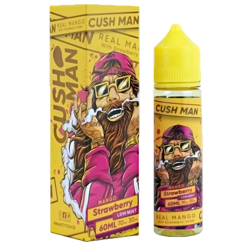 Strawberry - Nasty Juice Cush Man Series - CRAM Vape - Scunthorpe Vape Store and Doncaster Vape Store