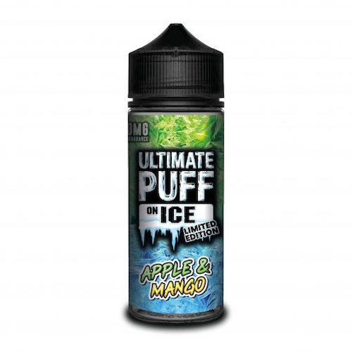 Apple & Mango - Ultimate Puff On Ice Limited Edition - CRAM Vape - Scunthorpe Vape Store and Doncaster Vape Store