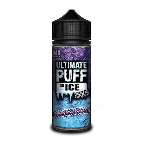 Blackcurrant - Ultimate Puff On Ice Limited Edition - CRAM Vape - Scunthorpe Vape Store and Doncaster Vape Store