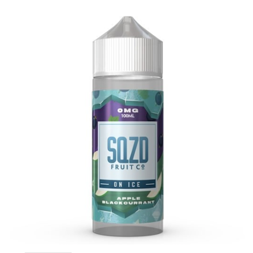 Apple Blackcurrant on Ice - SQZD on Ice - CRAM Vape - Scunthorpe Vape Store and Doncaster Vape Store
