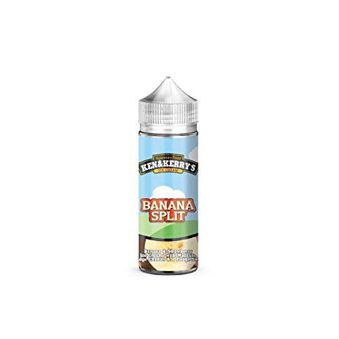 Banana Split-  Ken and Kerrys - CRAM Vape - Scunthorpe Eliquid Store