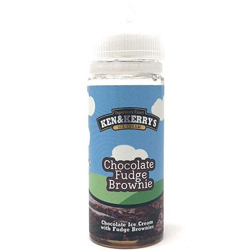 Chocolate Fudge Brownie - Ken and Kerrys - CRAM Vape - Scunthorpe Vape Store and Doncaster Vape Store