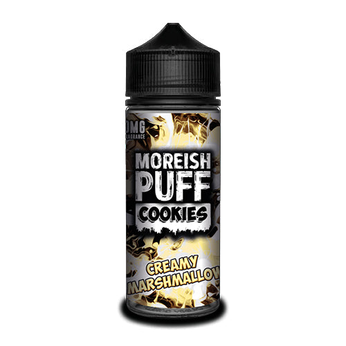 Creamy Marshmallow - Moreish Puff Cookies - CRAM Vape - Scunthorpe Vape Store and Doncaster Vape Store