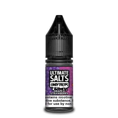 Grape & Strawberry Candy Drops - Ultimate Salts - CRAM Vape - Scunthorpe Vape Store and Doncaster Vape Store
