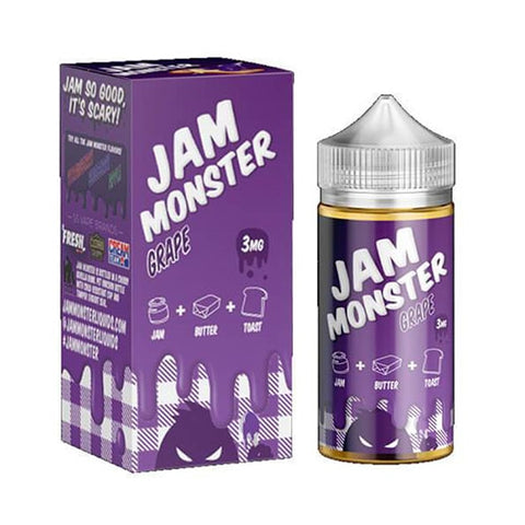 Grape - Jam Monster - CRAM Vape - Scunthorpe Eliquid Store