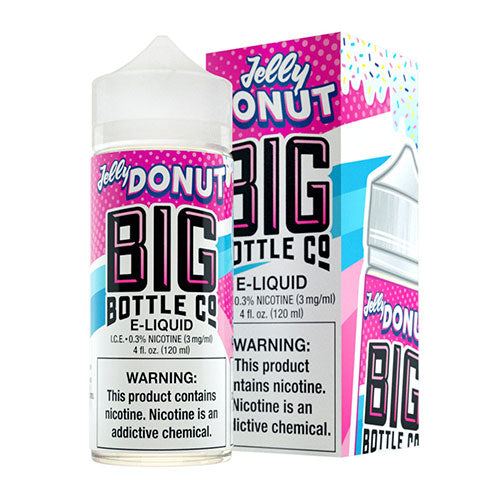 Jelly Donut - Big Bottle Co - CRAM Vape - Scunthorpe Vape Store and Doncaster Vape Store