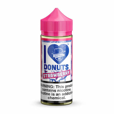 I Love Donuts - Strawberry - Mad Hatter