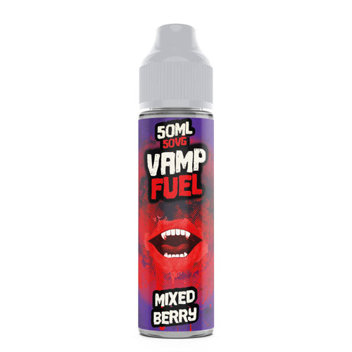 Mixed Berry- Vamp Fuel - CRAM Vape - Scunthorpe Vape Store and Doncaster Vape Store