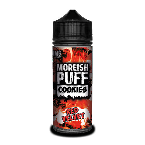 Red Velvet - Moreish Puff Cookies - CRAM Vape - Scunthorpe Vape Store and Doncaster Vape Store